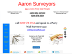 Aaron Party Wall Surveyors reviews