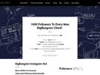 Bigbangram - instagram automation growth tool, instagram bot reviews