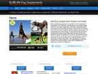BuffK-9® Dog Supplements reviews