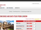 CompareStonehengeTours.com reviews