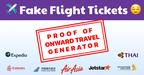 Fake Flight Tickets reviews
