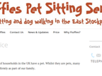 Fluffies Pet Sitting Service reviews