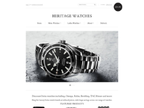Heritage Watches reviews