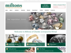 Miltons Jewellers reviews
