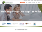 New Beginnings One Stop Tax Relief and Preparation reviews