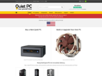 Quiet PC.com reviews