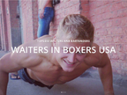 Waiters in Boxers USA reviews