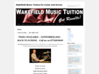 Wakefield Music Tuition reviews