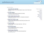 Quikshave reviews