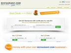 Restaurant.com reviews