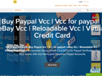 PayPal VCC reviews